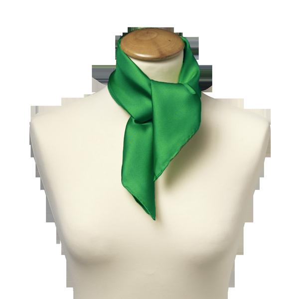 Panuelo Verde Seda